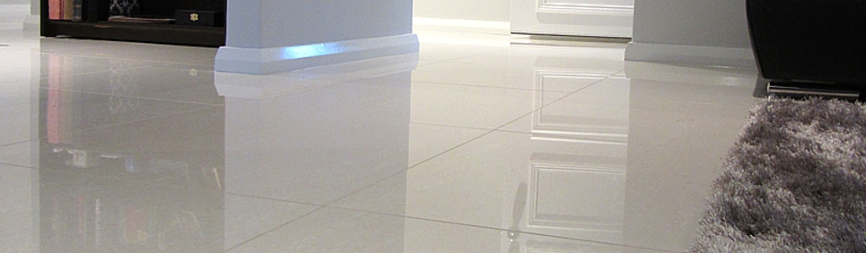 Polished Porcelain Floor Tiling