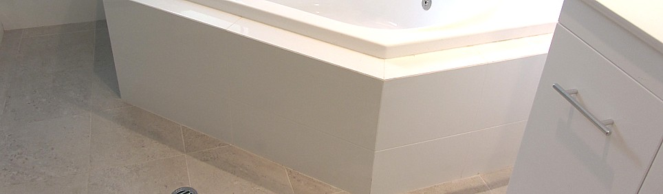 Spa baths, ensuites, toilets, laundries, we tile them all